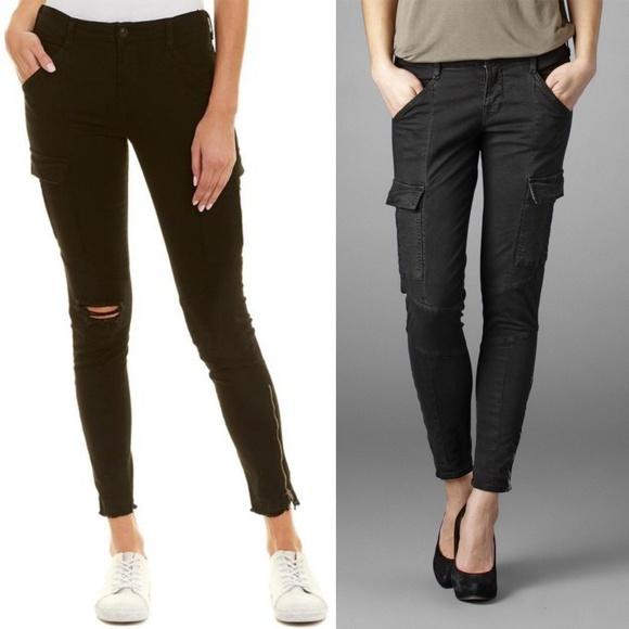 e74242c2e40 J Brand Pants | Houlihan Skinny Crop Cargo Ripped | Poshmark